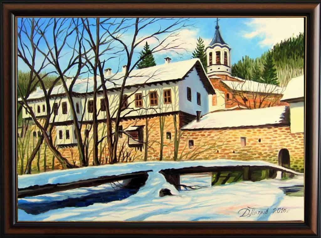 -спокойствие-маслени-бои-на-платно-70x50-см.-300-лева Картини с мостове