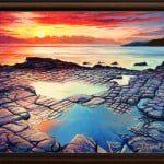 Изгарящо желание - маслени бои на платно 70x50 см. - 300 лева