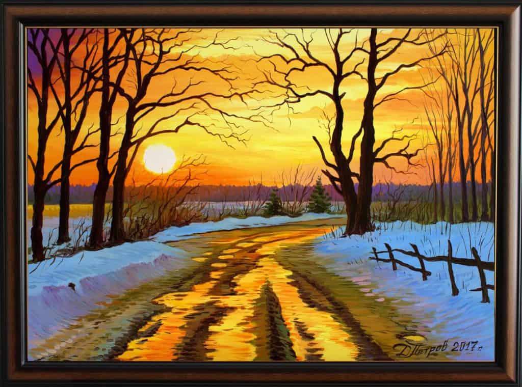 -на-дългото-пътуване-маслени-бои-на-платно-70x50-см.-1230-лева Каква е историята на една моя картина?