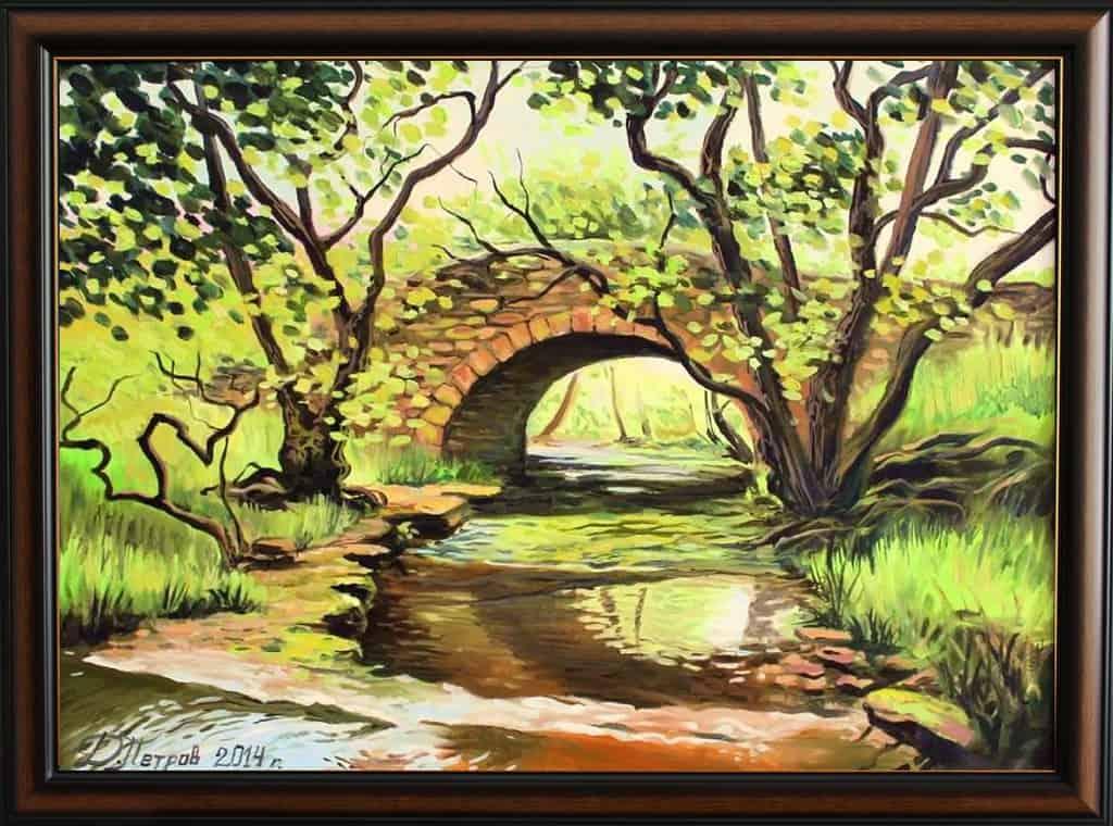 -феи-маслени-бои-на-платно-50х70-см.-www.petrovkartini.com_ Картини с мостове