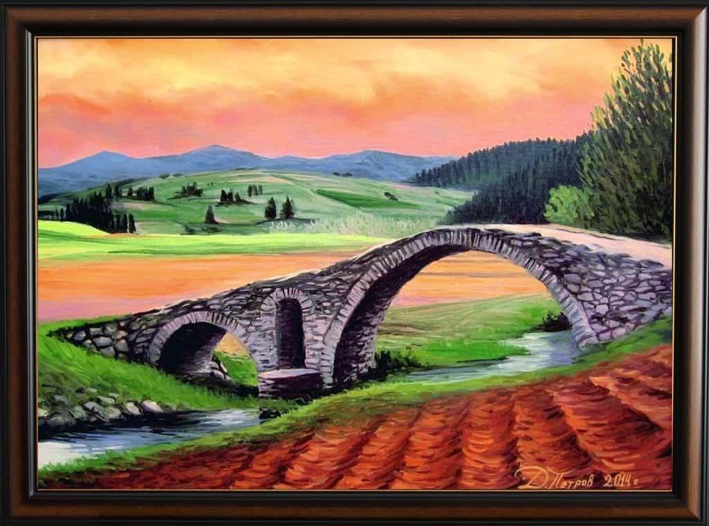-във-времето-маслени-бои-на-платно-50х70-см.-архив-2014-г.-продадена Картини с мостове