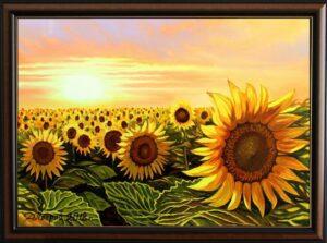 """""""Между сънят и реалността"""" - оригинална картина с маслени бои на платно 50 х 70 см. - цена 440 лева"""