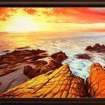 """""""Вярата в една мечта"""" - маслени бои на платно - 70 x 50 см. - цена 290 лева"""