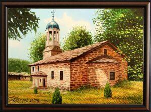 """""""Тихо мълчание"""" - оригинална картина с маслени бои на платно 50х70 см. - цена 480 лева"""